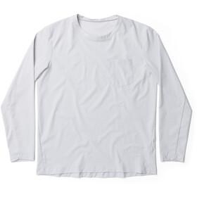 Houdini Cover Camiseta Manga Larga Cuello Redondo Hombre, gris